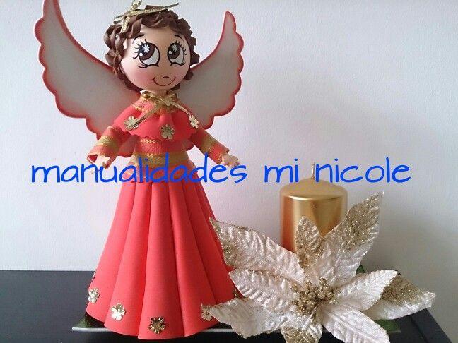 Fofucho angel de navidad