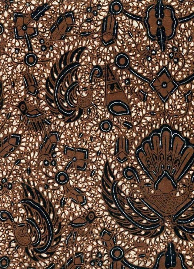 Gambar Batik Yogyakarta - motif Semen Sido Mukti