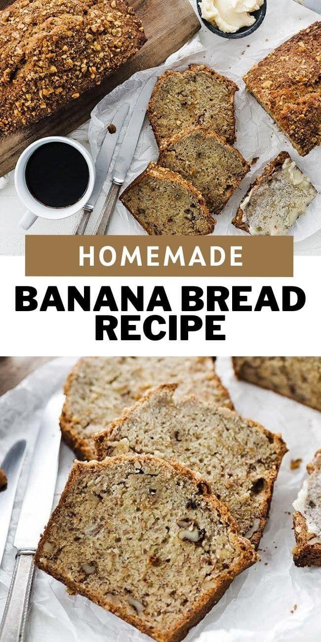 Homemade Banana Bread Recipe Moist