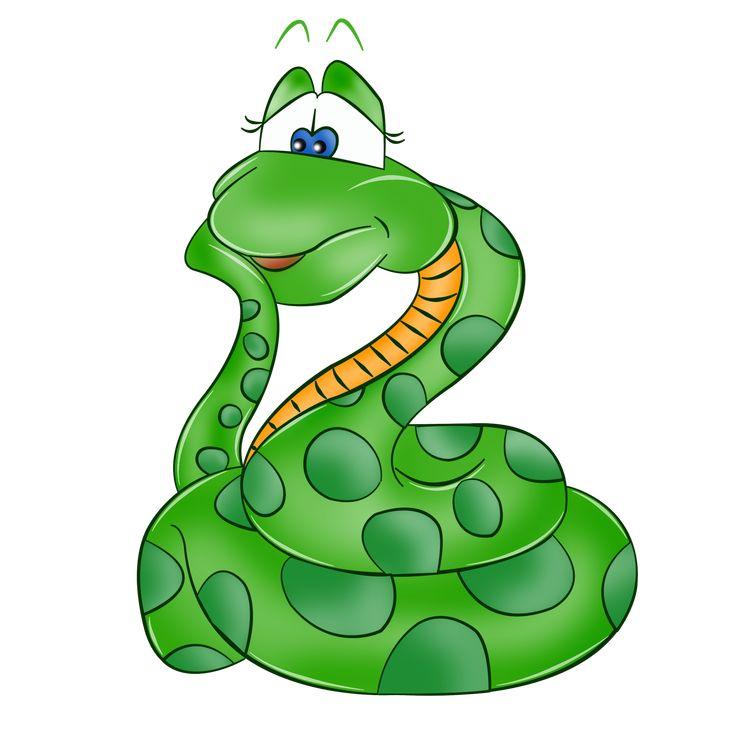 Изображение змеи открытки, днем рождения