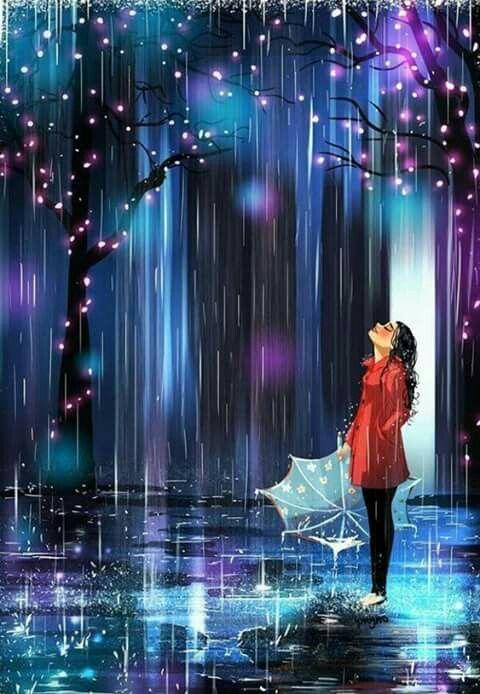 Me fascinan los días de lluvia.