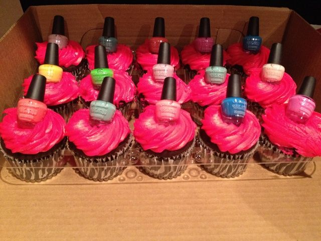 Girlie Girl cupcakes