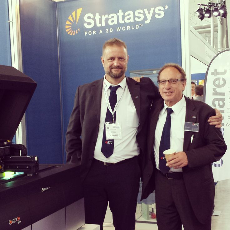 #stratasys exhibiting at #medteceurope Nice to meet you! #medteclive #3dprinting
