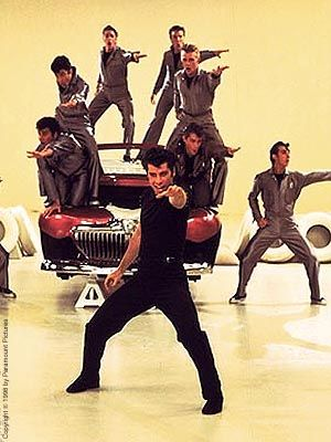 Grease Lightening!  Last drive in movie I ever went to see.  Remember Cammi?