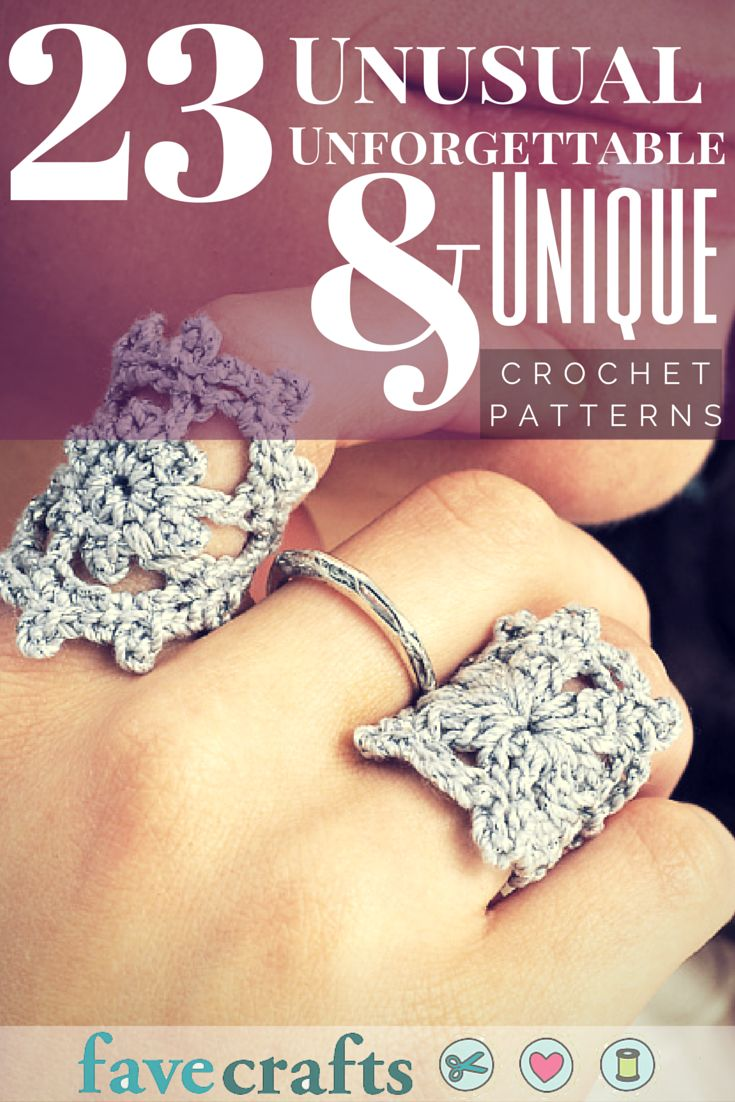 23 Unusual, Unforgettable, and Unique Crochet Patterns | FaveCrafts.com