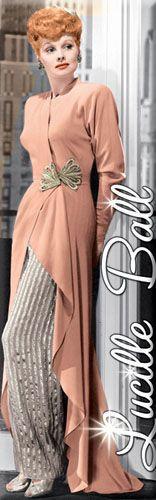 Lucille Ball Clothing | Love Lucy Lucille Ball Peach Dress Magnet 60067LLU