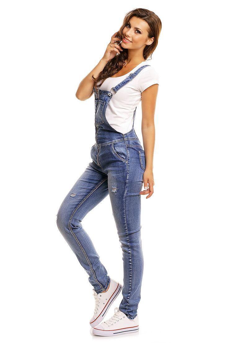 Tuinbroek Jeans-Realty Emeral Beautylife #denim #tuinbroek #dungaree #kleding