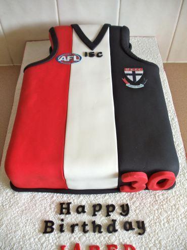 Great Men's AFL Cake