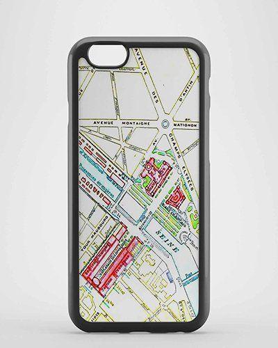 Paris Map for iPhone Case ,Samsung Case,Ipad case etc