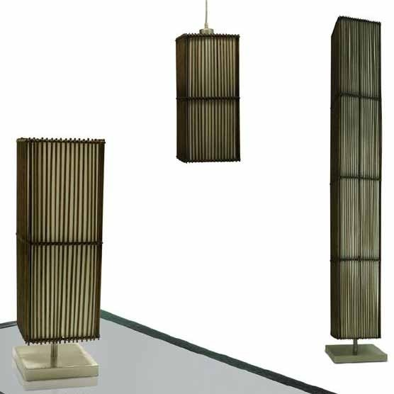 Matching Rattan Table Amp Floor Lamp And Pendant From 69
