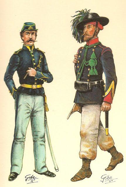 1853.- Pontonero.-                         1855.- Sargento de bersaglieri..jpg