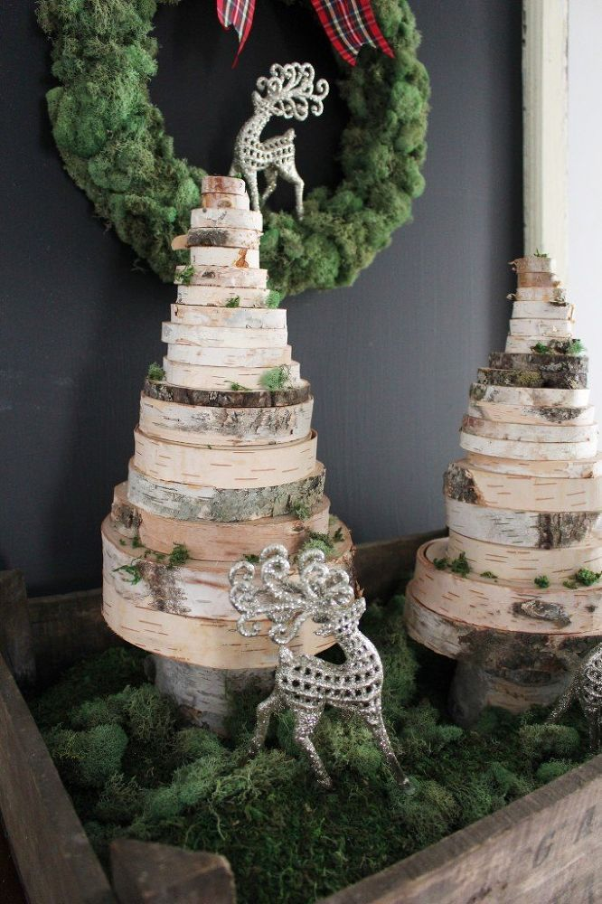 34 Wood Slice Home Décor Ideas: 17 Best Ideas About Tree Slices On Pinterest
