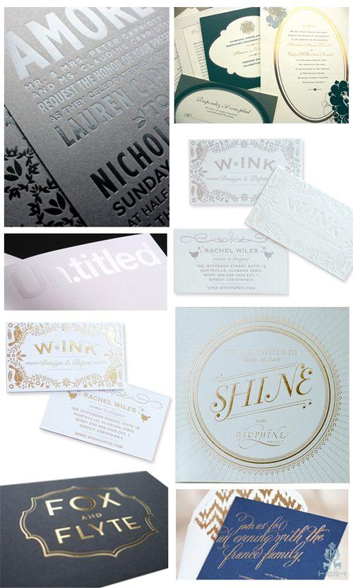 89 best foil images on pinterest business cards invitations and gorgeous foil stamping via benign objects benignobjectsspot foil stampingwedding paperinvitation designletterpressprint stopboris Images