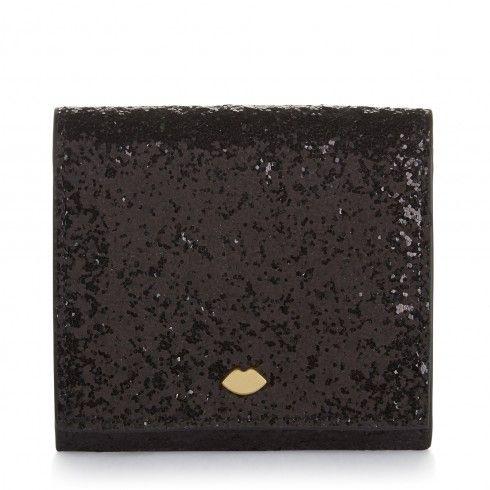 Black Glitter Hettie Card Holder
