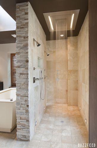 Master Bathroom With Walk In Shower 542 best stunning showers images on pinterest | bathroom ideas