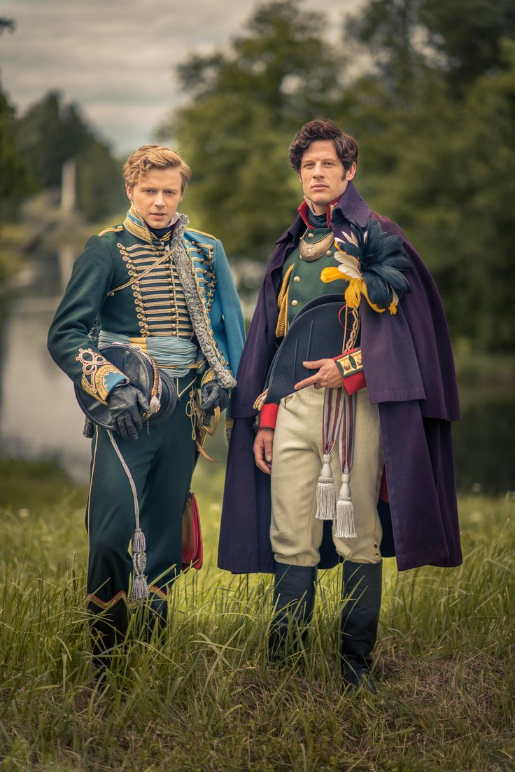 War and Peace Archives - Harry Cory Wright. James Norton & Jack Lowden as Andrei Bolkonsky & Nikolai Rostov in BBCs War & Peace
