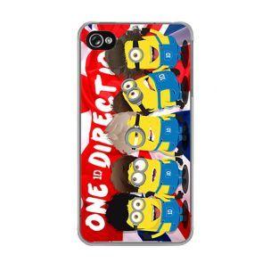Coque iPhone 5C One Direction Minion sur drapeau UK Fan des Minion One Direction!!! Venez les découvrir sur notre boutique  #case #iphone #accessoiresexpress
