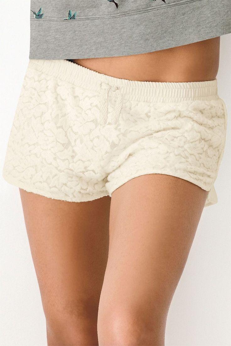 Next Cream Lace Shorts - EziBuy New Zealand
