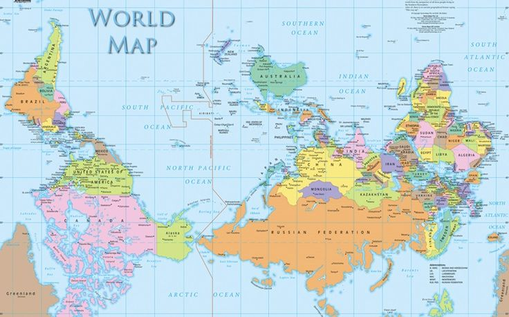 Η ΑΠΟΚΑΛΥΨΗ ΤΟΥ ΕΝΑΤΟΥ ΚΥΜΑΤΟΣ: Γιατί υπάρχουν παγκόσμιοι χάρτες που είναι... ανάπ...