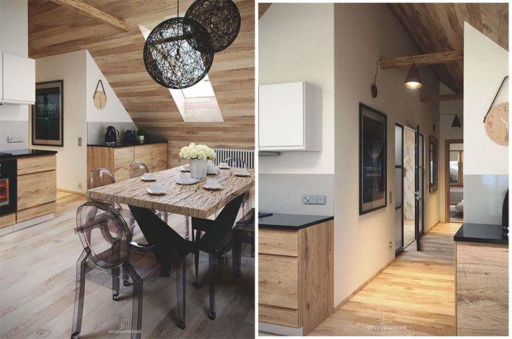 Górski Loft / Seryjny Projekt – nowoczesna STODOŁA | wnętrza & DESIGN | projekty DOMÓW | dom STODOŁA