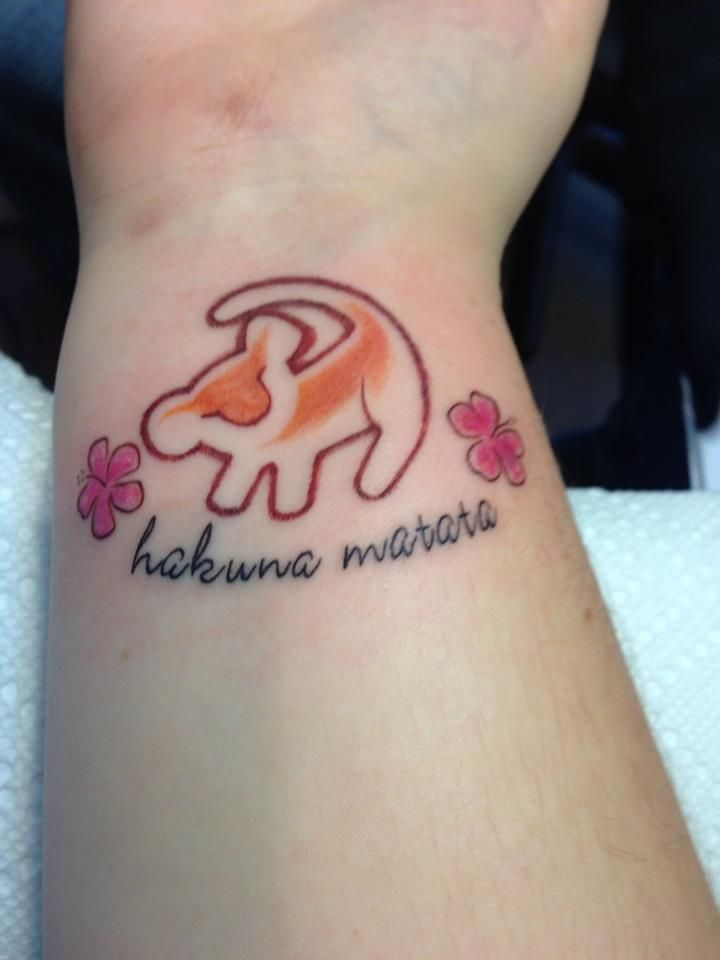 I'm not a big tattoo person, BUT....this is awesome. Wonder how mad my parents would be if I came home with a Lion King tattoo.