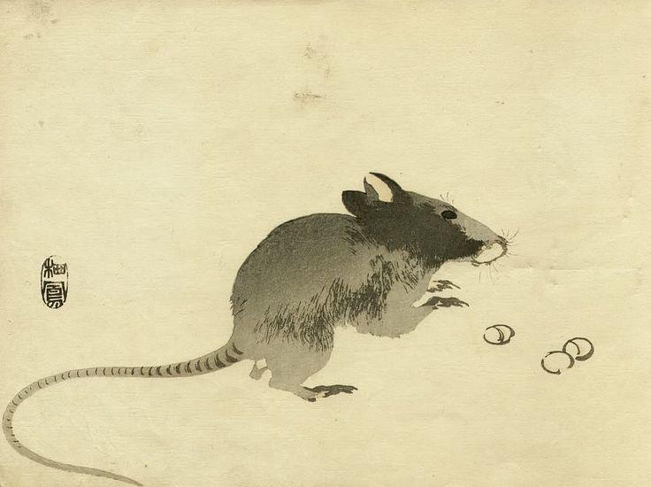 мышка японская картинка величественное независимое животное