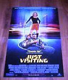 Just Visiting Movie Poster 27x40 Used George Plimpton, Ross Gibby, Darryl Henriques, John Aylward, Peter Janosi, Matyelok Gibbs, Michael Skewes, James 'Ike' Eichling, Greg Fitzpatrick, Valerie Griffiths