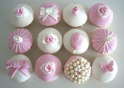 muffinki ślubne zestaw