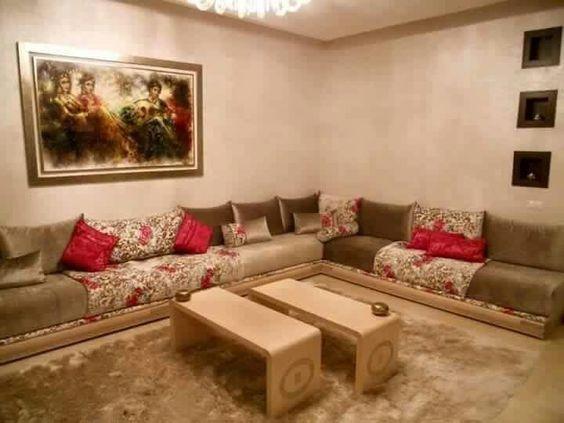 les 183 meilleures images du tableau salon s jour marocain 2018 sur pinterest. Black Bedroom Furniture Sets. Home Design Ideas