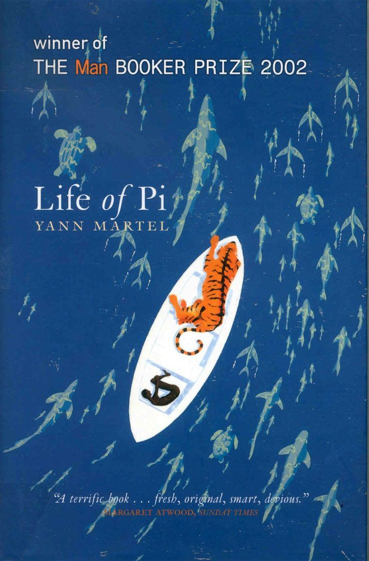 Life of Pi Book Cover | I was expecting more from the movie. While it is cute, I say, stick to the book!