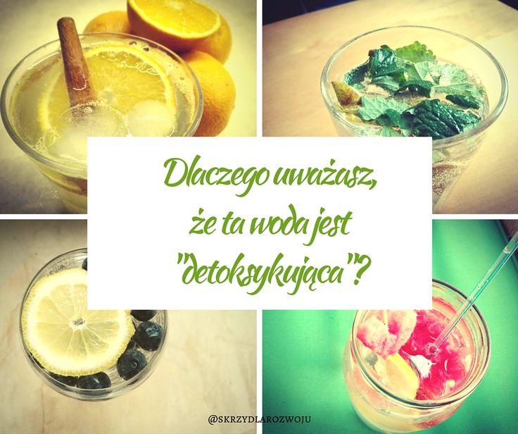 Pomysł na detoksykujące wody #detoxicatingwater #detox #health #diet #smallstep #yummy