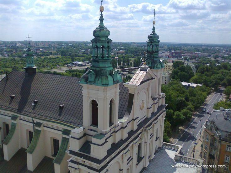 Widok z Wieży Trynitarskiej