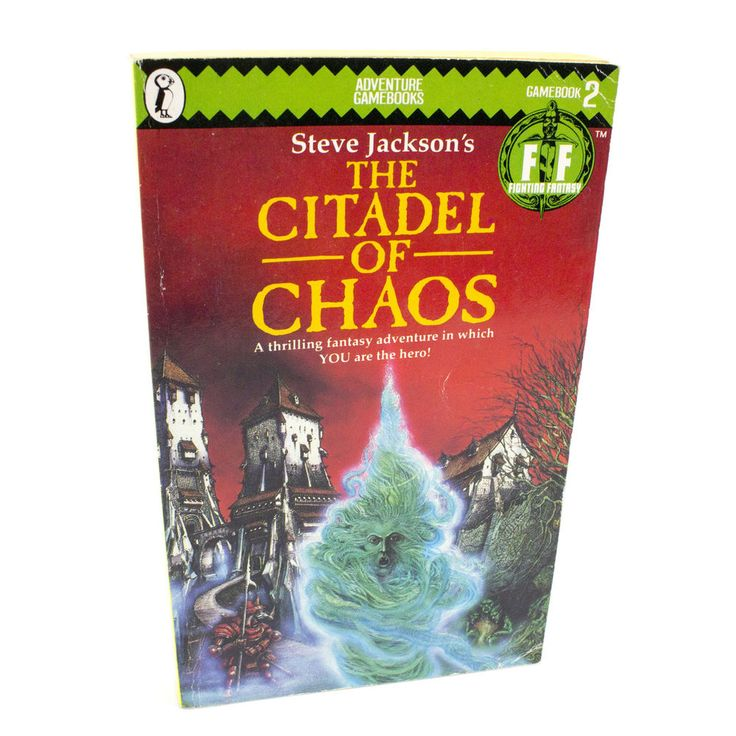 The Citadel of Chaos Puffin Fighting Fantasy Book #2, Ian Livingstone