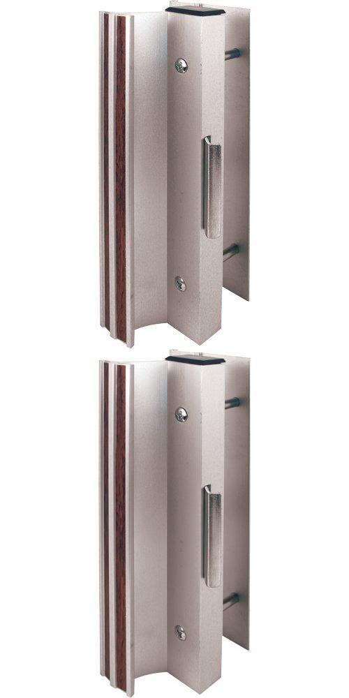 Slide-Co 14399 Sliding Door Handle Set, Aluminum Finish Clam style handle system. High profile base. Anodized aluminum finish. Fasteners included.  #Slide-Co #Home_Improvement