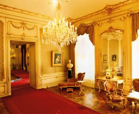 Castelo de Schönbrunn - Sala da Imperatriz Sissi