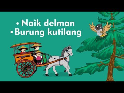Naik Delman Istimewa Burung Kutilang Lagu Anak Indonesia Populer Youtube Gambar Animasi Kartun Kartun Lagu