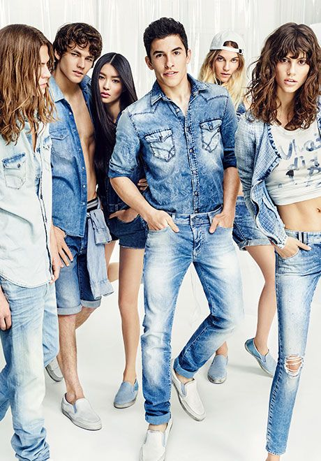 denim dreamers - GAS Jeans Spring Summer 2015 Collection featuring #MarcMarquez