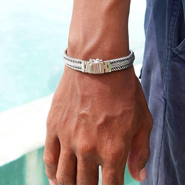Buddha to Buddha silver bracelet Edwin Jr. Sterling silver bracelets by BuddhatoBuddha