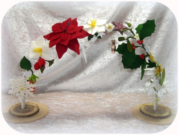 Bogen Winter für Blumenkinder Jahreszeitentisch von Susannelfes Blumenkinder  auf DaWanda.com
