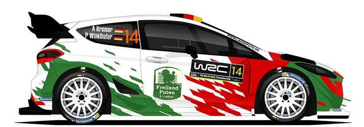 WRC | M-SPORT | #14 | Armin Kremer - Pirmin Winklhofer ( 10 )