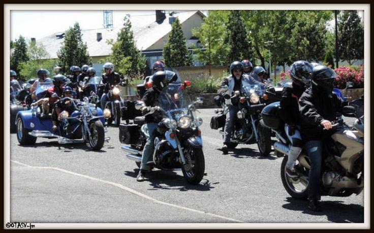 concentration bikers à La Salvetat Peyralès 13/08/2016