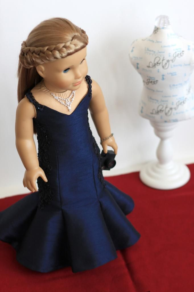 Evening gown for American Girl doll