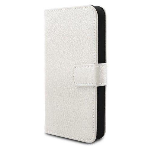 Schutzhülle mit Magnetverschluss für Apple iPhone 5 & 5S Weiß