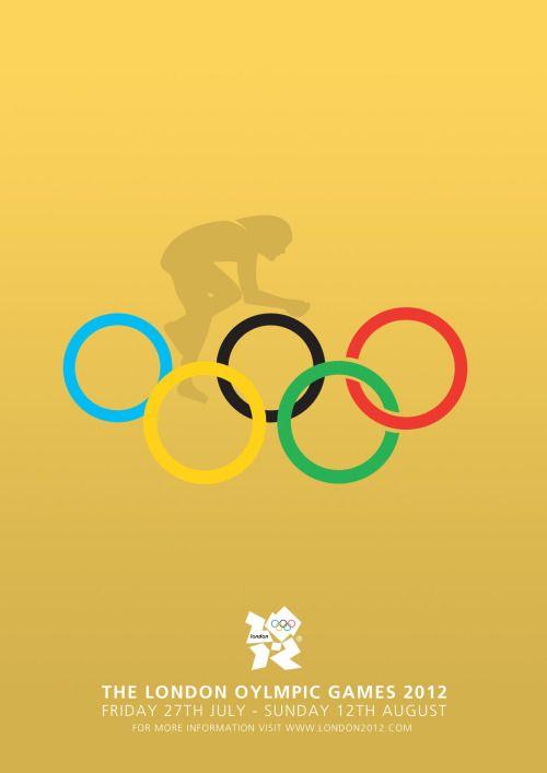 cyclingisart: 2012 Olympics London - poster