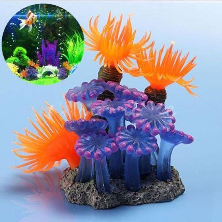 Resin Fish Tank Aquarium Artificial Coral Artificial Plants Underwater Aquarium Ornaments Decoration #Affiliate