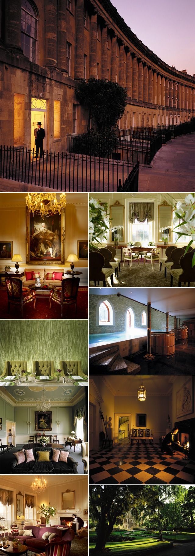 The Royal Crescent, Bath, UK - perfect for weddings, corporate events or some time away from it all...