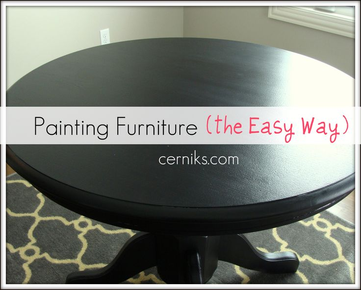 Furniture Painting Tutorial And Tips Furniture Refinish Painted F