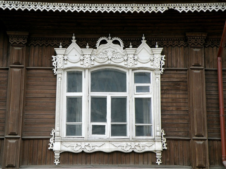 Russia windows frames