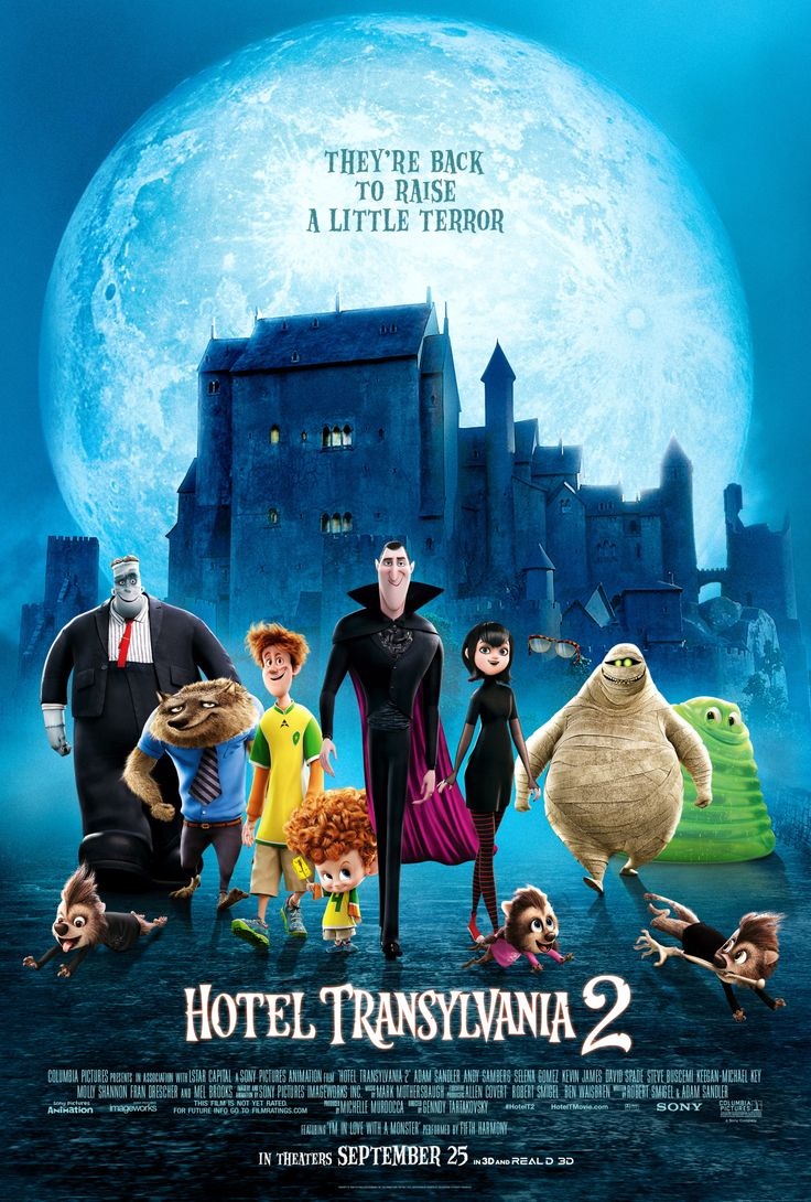 That's right, Drac's Pack is (almost) back! Hope you're as excited about our new movie as we are! Hotel Transylvania 2 in theaters Sept 25. #HotelT2
