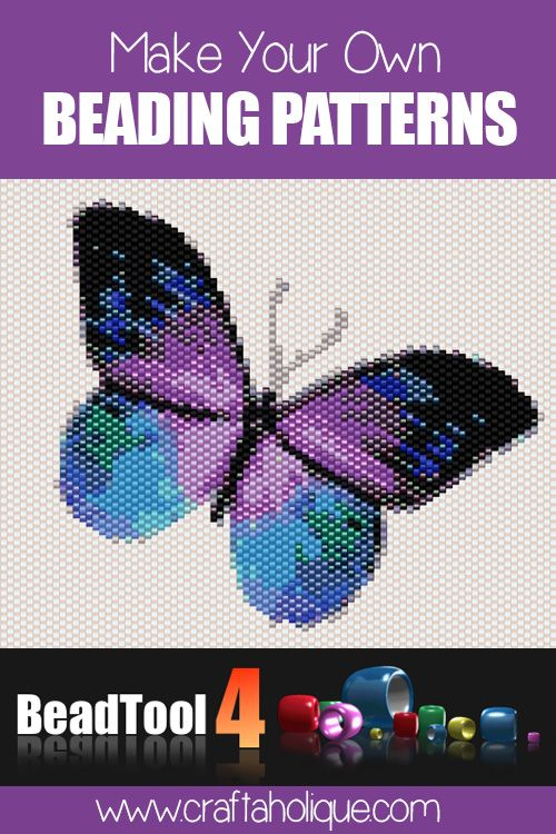 BeadTool 4 review - make your own beading patterns with this brilliant beading software. Perfect for peyote stitch, brick stitch, loom and RAW patterns.